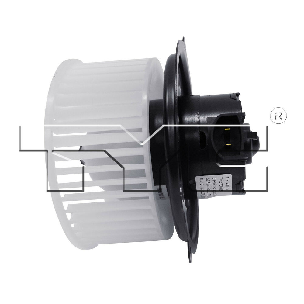 Hvac blower motor ac condenser blower assembly front tyc for Hvac blower motor not working