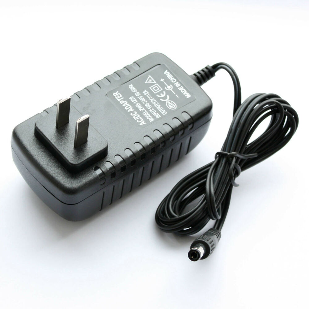 Elp Us Plug Ac Dc Power Adapter 12v 2a Charger For Ip