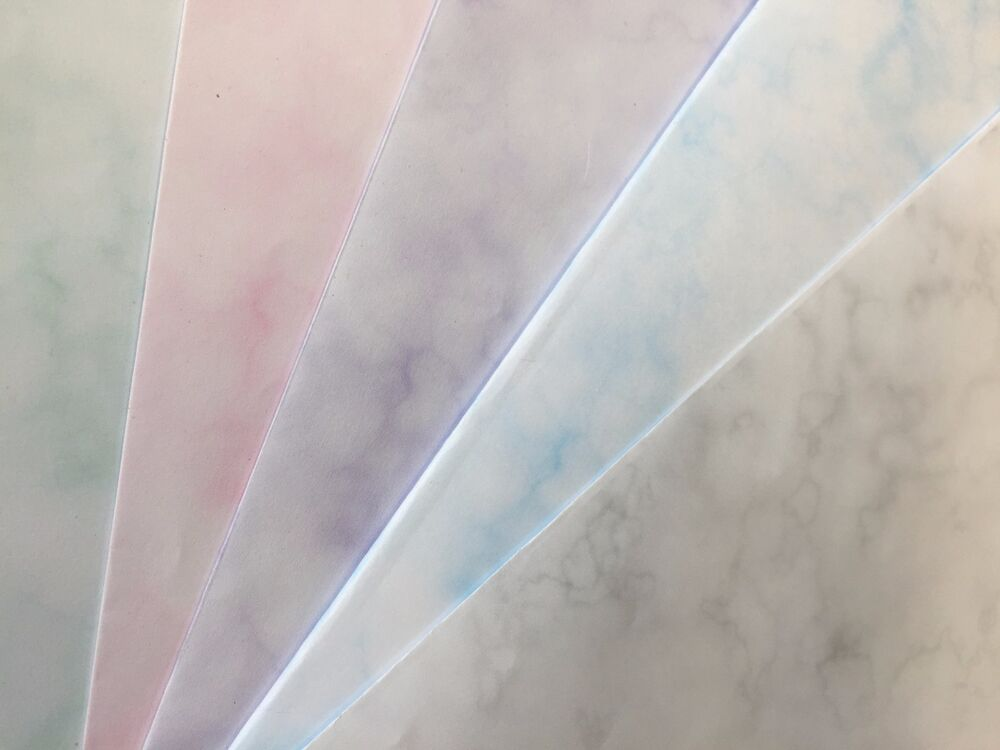 A4 Marble Effect Smooth Paper Or Card 80gsm 120gsm 135gsm