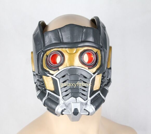 STAR LORD HELMET With RED LIGHT Guardians of The Galaxy ...