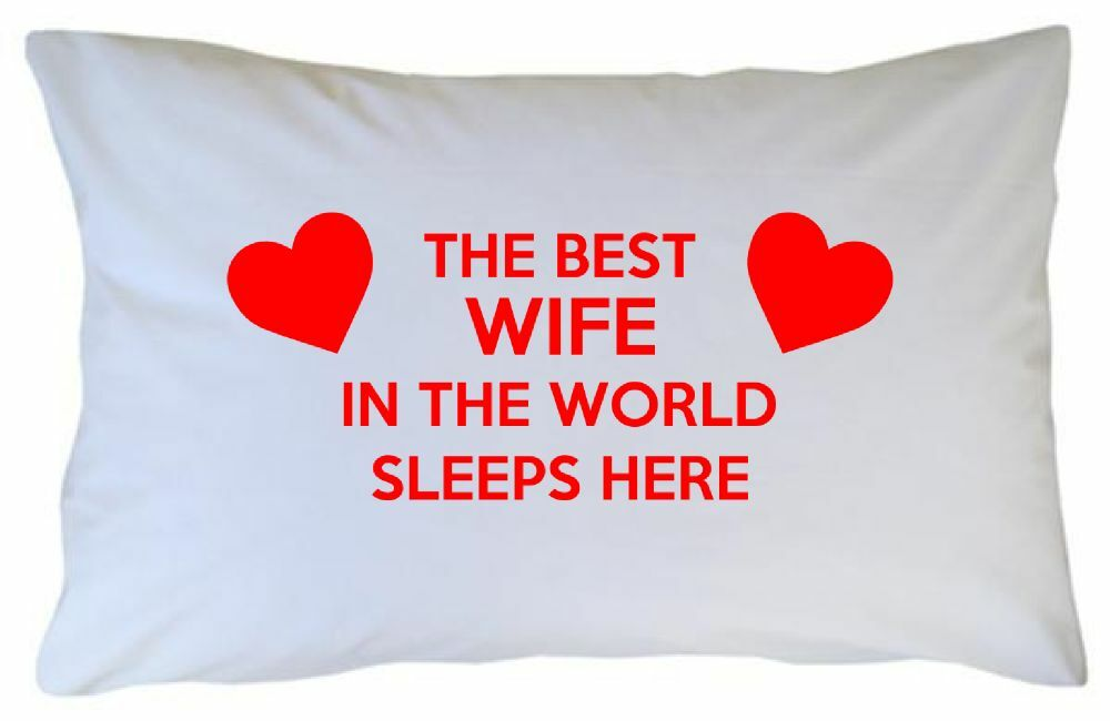 Funny Pillowcase For Wife Gift Valentines Day 2nd Second