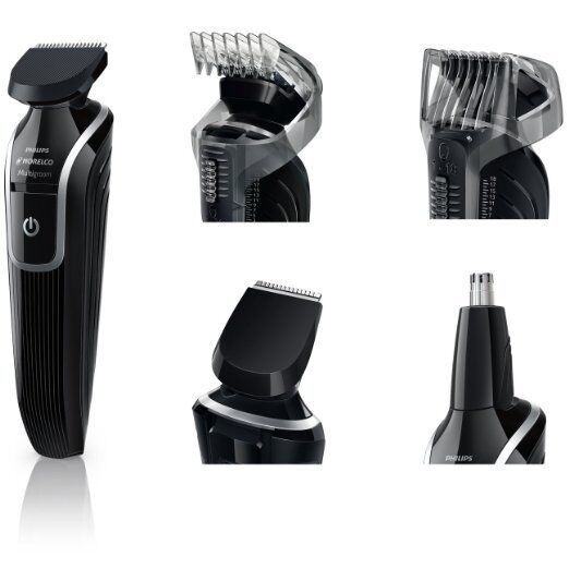 philips norelco multigroom all in 1 grooming kit rechargeable beard bestdealer ebay. Black Bedroom Furniture Sets. Home Design Ideas