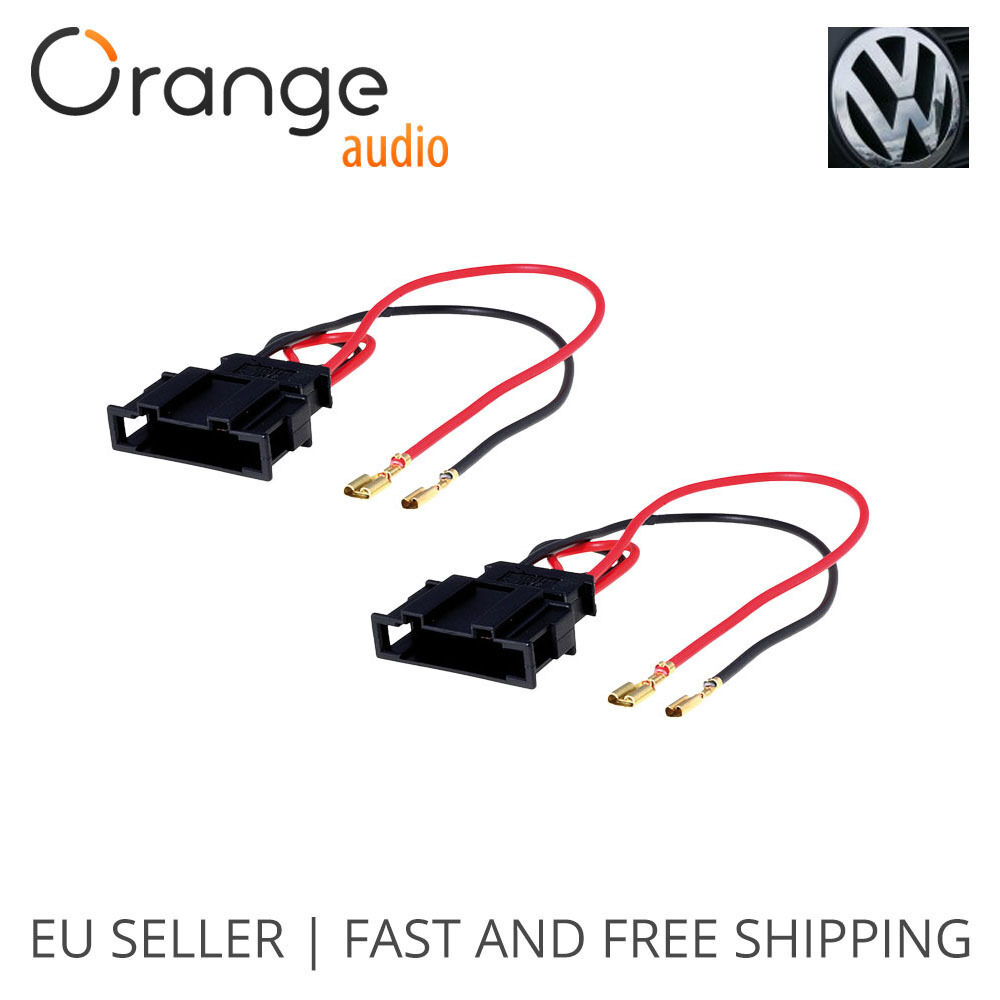 radio stereo speaker wire harness adapter plug for vw seat speaker wiring harness toyota speaker wiring harness ford
