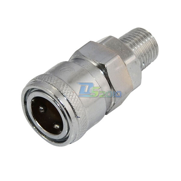 1 4 Worldwide Compressor Air Line Hose Coupling Fitting Connector Npt Ebay