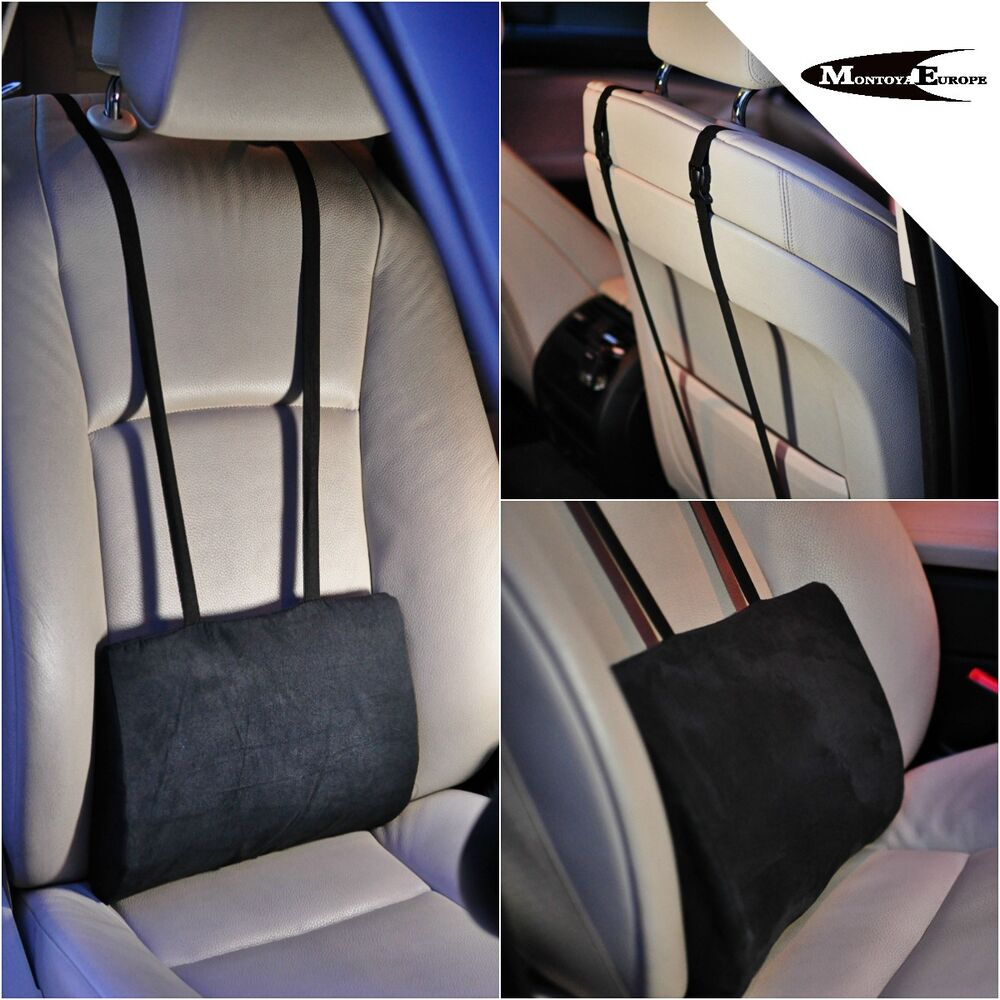 Lower Back Lumbar Support Cushion Pillow For Car Seat Office Chair EBay