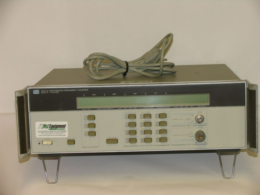 Hp Frequency Counter : Hp hewlett packard microwave frequency counter a ebay