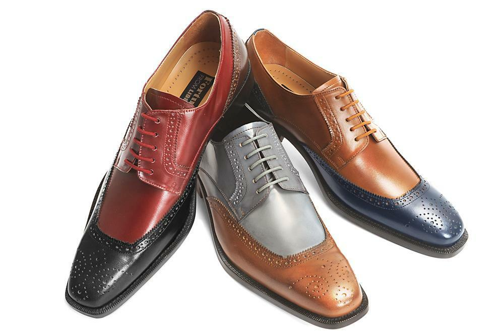new s liberty leather two tone dress shoes gray