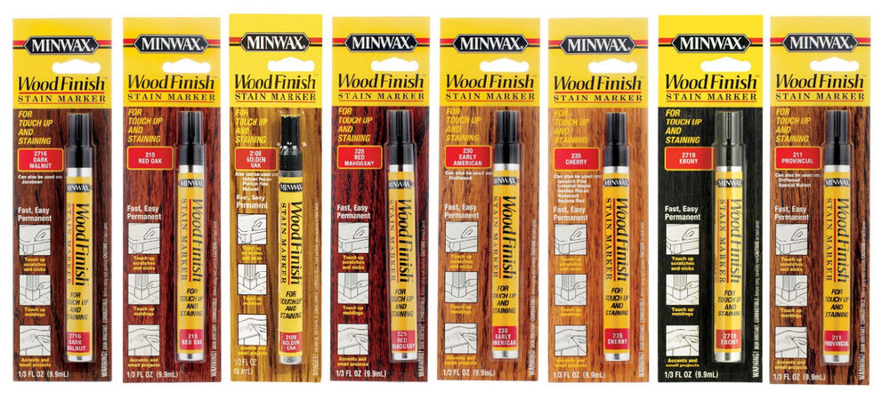 Minwax Wood Finish Stain Marker 1 3oz New Choose Your