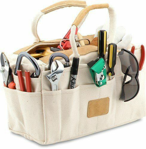 Tool Bag Canvas Mechanic Electrical Rigger Organizer Tote