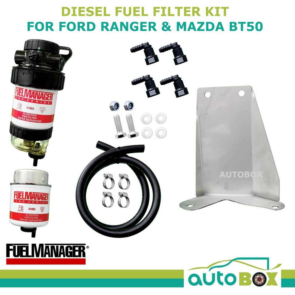 Diesel Fuel Filter Water Separator Ford Px Ranger Mazda