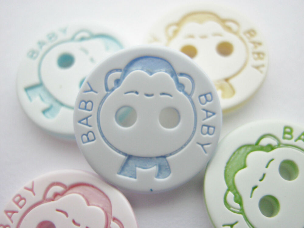10 Baby Buttons 12mm 1 2 Inch Baby Boy Girl Clothing