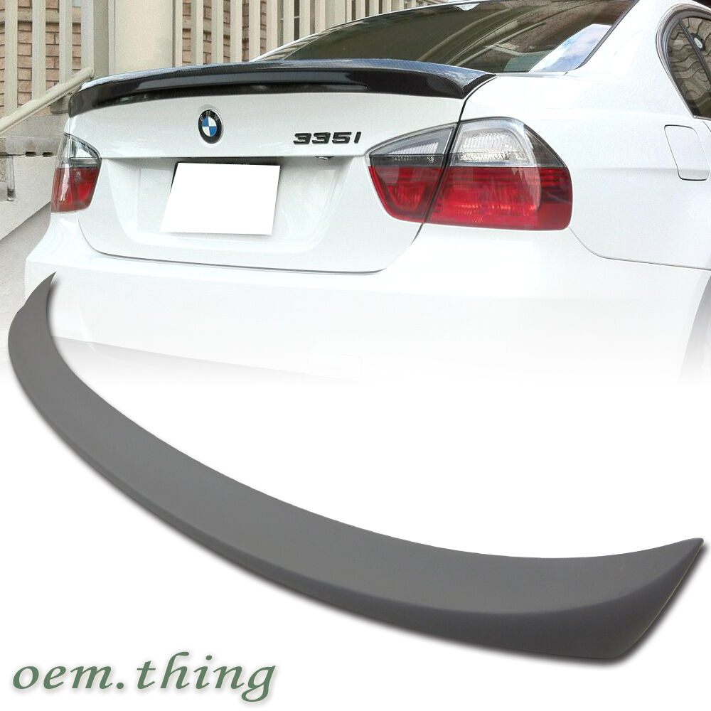 painted bmw e90 3 series 4dr m tech type rear trunk. Black Bedroom Furniture Sets. Home Design Ideas