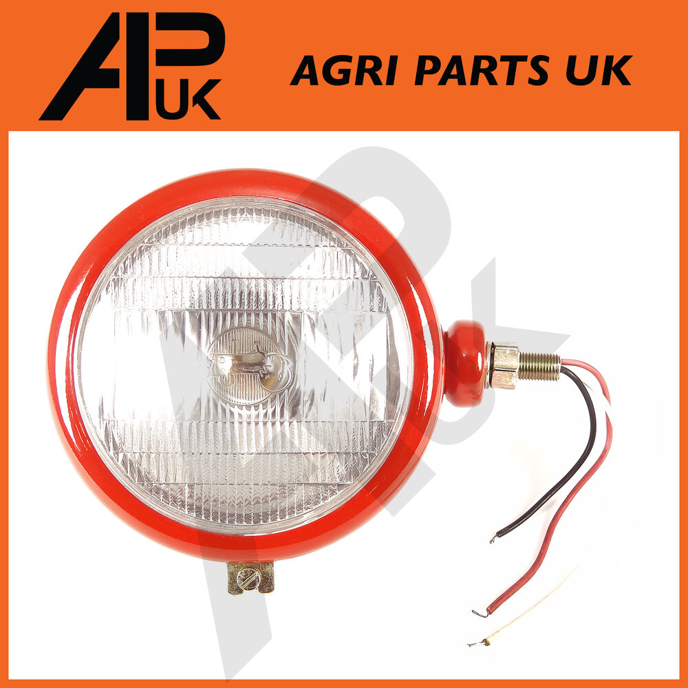 Tractor Headlight Bulb Sizes : Massey ferguson rh headlight head lamp light