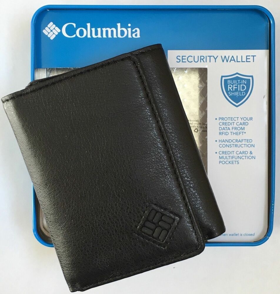 Weatherproof Men/'s Wallet Security RFID Blocking New NIB Brown