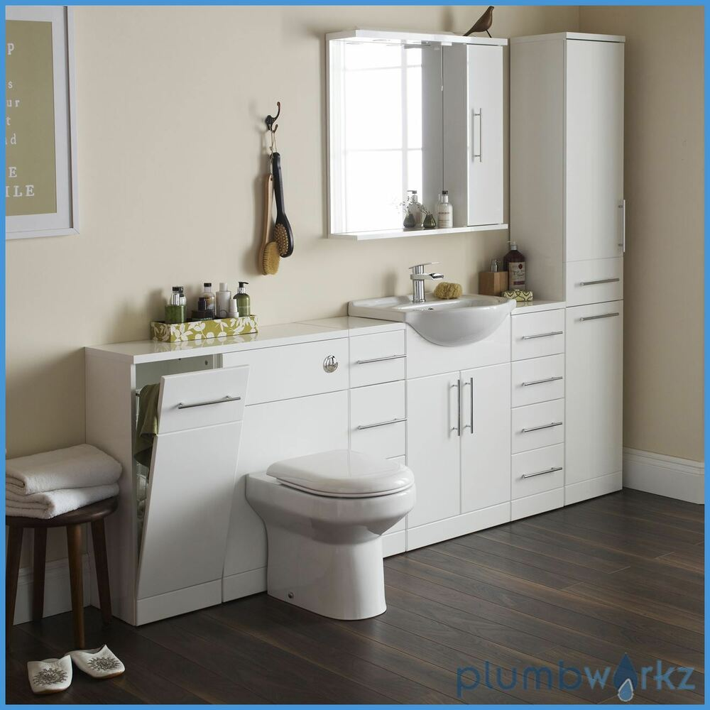 Back to Wall BTW WC Pan Toilet Concealed Cistern, Seat ...