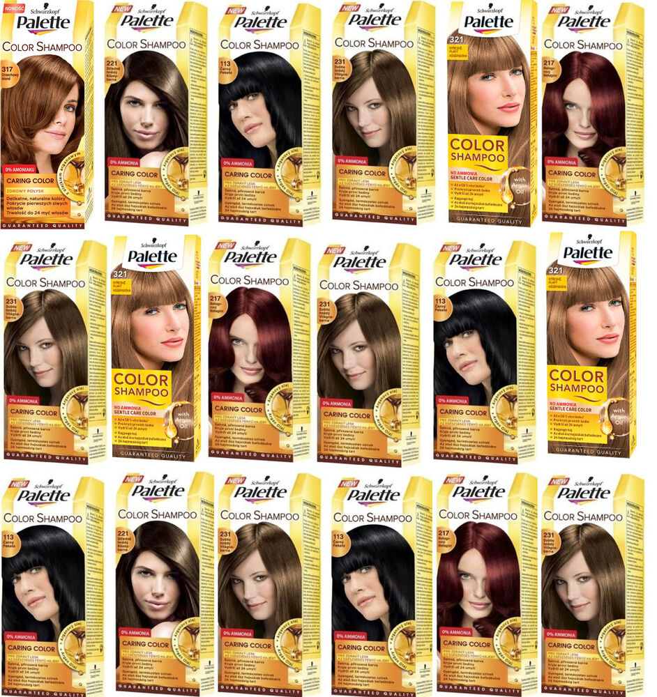 Hair colors palette hair colours set tints dyed hair color samples schwarzkopf palette color shampoo gentle care hair colour shade no ammonia geenschuldenfo Choice Image