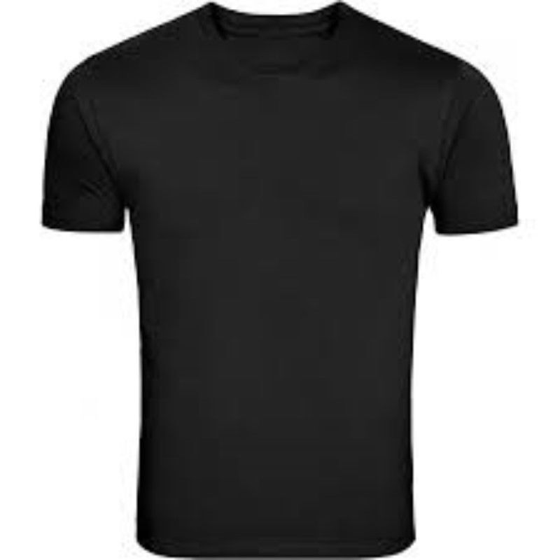 Pack 5 mens plain blank cotton t shirts casual work sports for Blank mens t shirt
