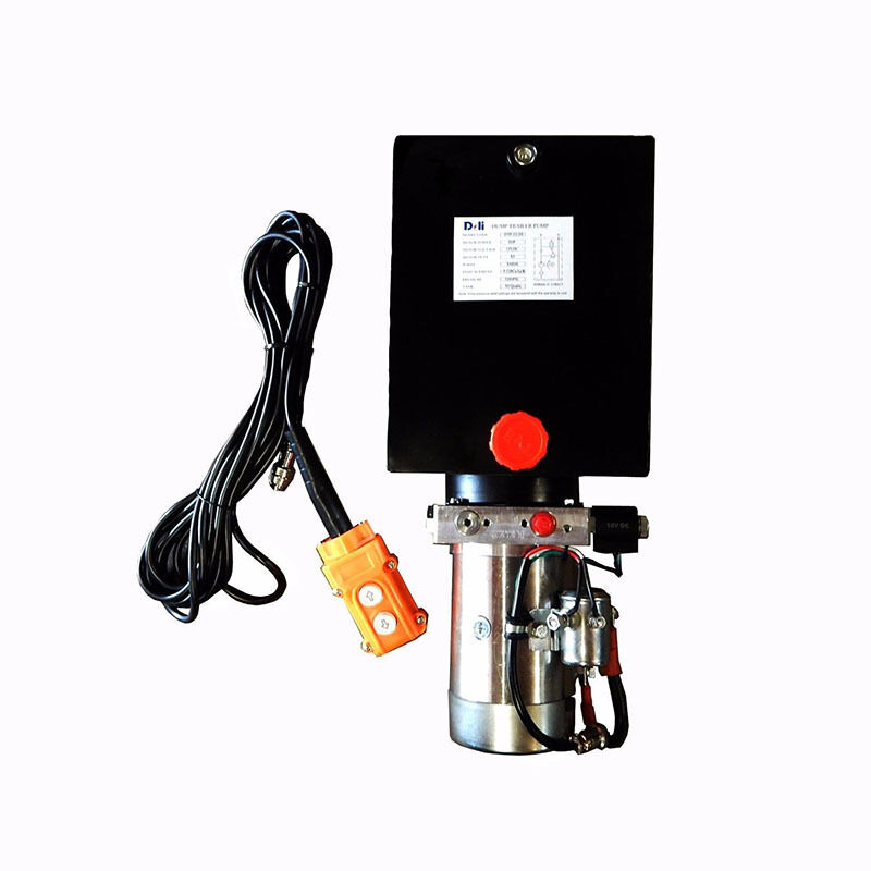 12 volt hydraulic pump with reservoir