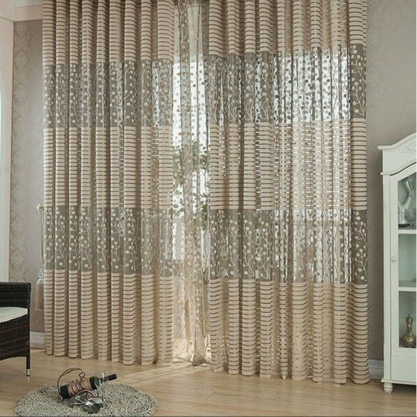 Romantic Drape Panel Sheer Curtain Hottest Tulle Door Window Valance ...