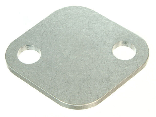 how to make egr block off plate