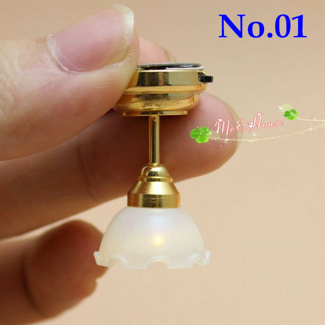 1:12 Dollhouse Miniature Ceilling Light LED For Mounting