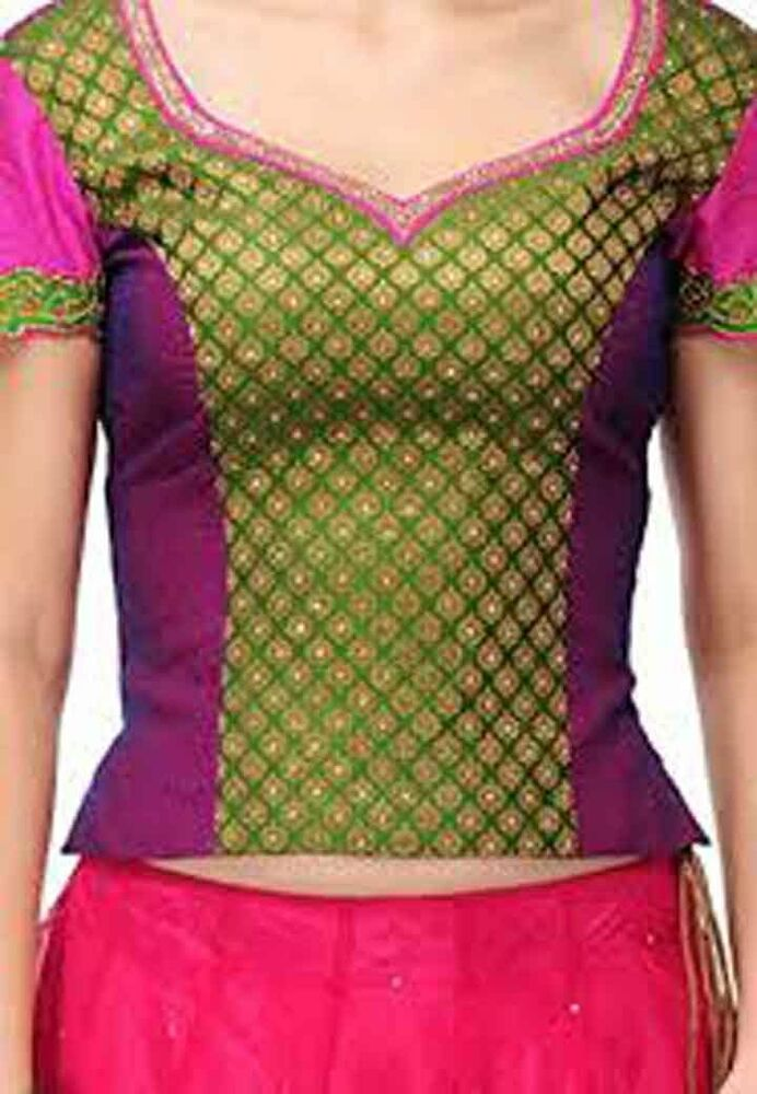 Belly Dance Blouse Choli Traditional Bollywood Blouse Tops