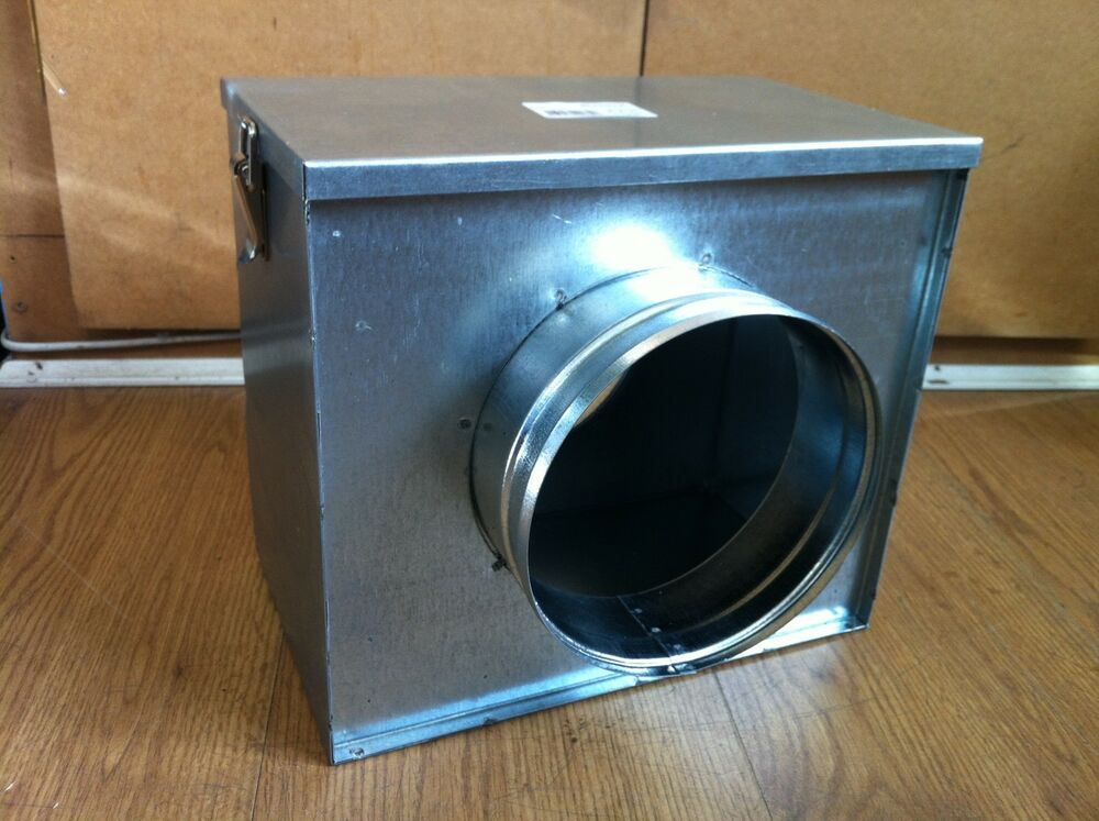 6 Duct Fan Extractor : Mm filter box ducting hydroponics ventilation