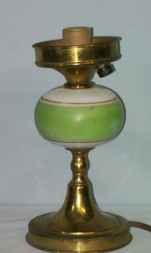 how to clean old brass lamp stand