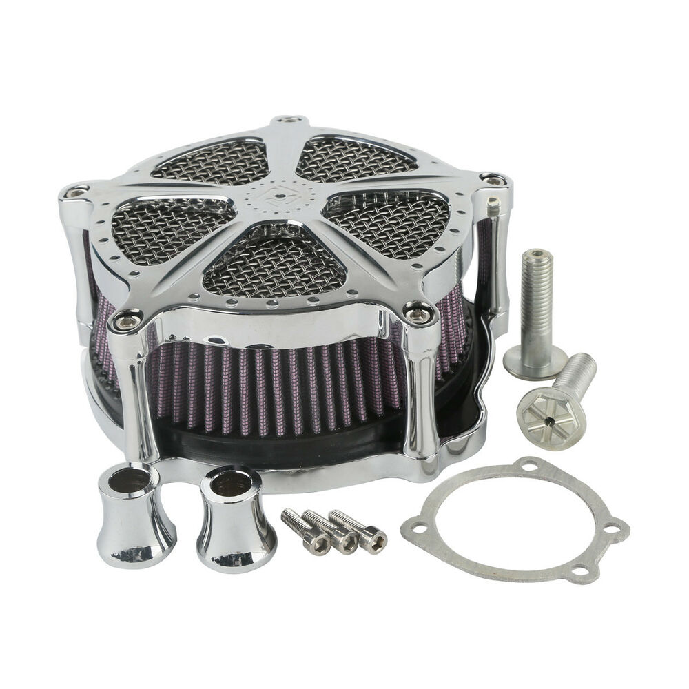 chrome air cleaner speed 5 for harley sportster forty