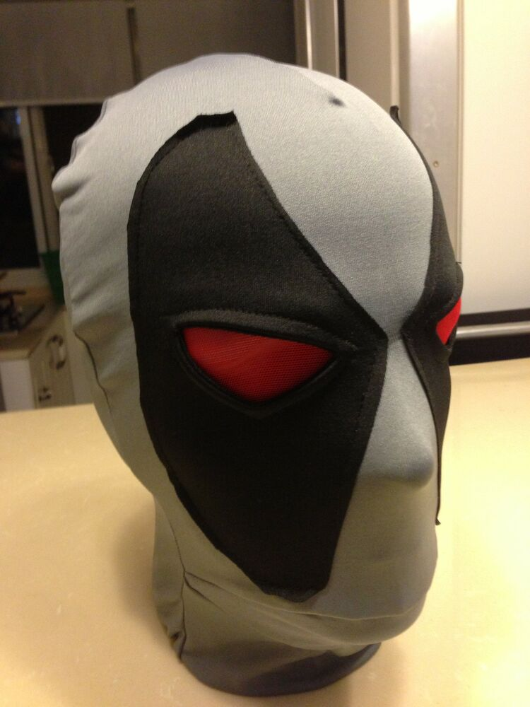 how to draw a lycra mask