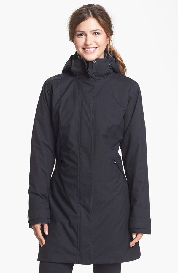 North Face Jacket Women >> Patagonia Vosque 3-in-1 Parka Women's Black Coat | eBay