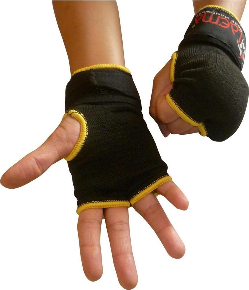 Fitness Inner Gloves: Authentic Inner Quick Hand Wraps Gloves Boxing Fist Gel