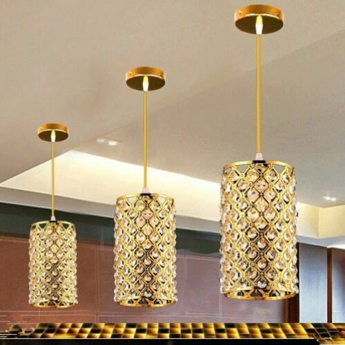 Modern Crystal Bar Lighting Ceiling Light Pendant Lamp