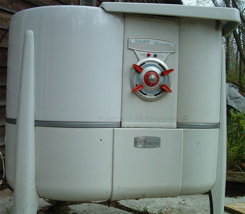Washing Machine Vintage Classic Antique Electric Motor W