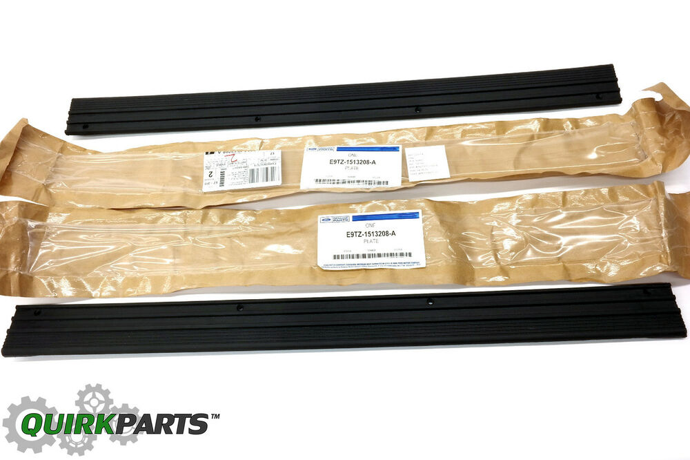 1987 1997 Ford F150 F250 F350 Bronco Front Door Sill Black