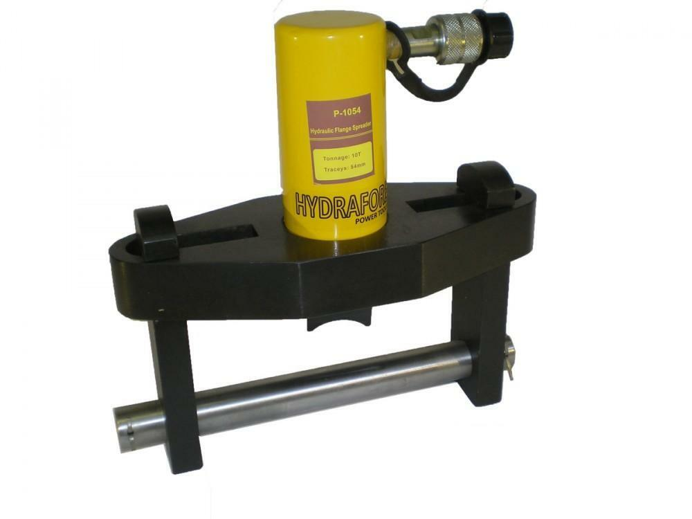 Hydraulic Flange Spreader Tool : Hydraulic flange spreader pipe tool tons quot p