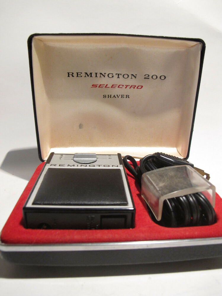 Vintage Remington 200 Selectro Electric Shaver Ebay