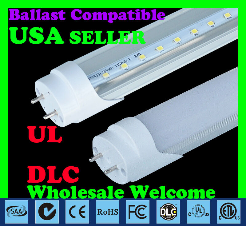 4ft Ballast Compatible 18w Day White 5000k Led T8 Tube