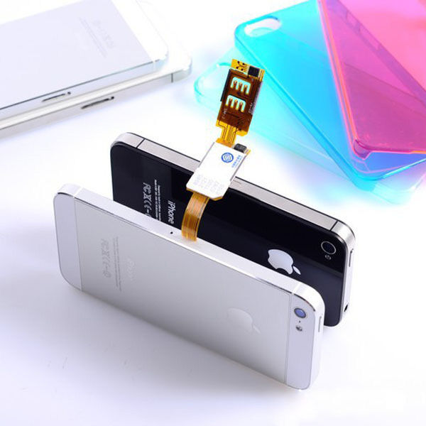 iphone 5 sim card brand new dual sim card adapter converter for apple 1653