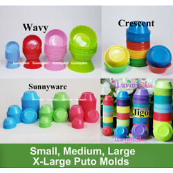 Kyпить Puto, Kutsinta, Pichi Pichi Plastic Cup Molder...Different Brands and Style на еВаy.соm