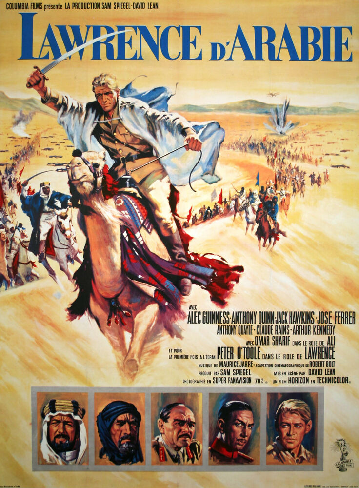 an analysis of david leans movie lawrence of arabia Unlike most editing & proofreading services, we edit for everything: grammar, spelling, punctuation, idea flow, sentence structure, & more get started now.