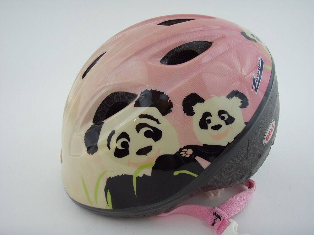 Bell Toddler Bike Safety Helmet Girls Panda Bear Euc Ebay