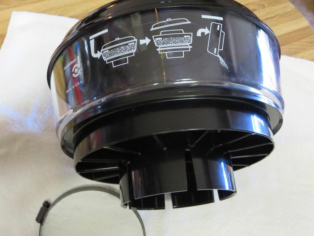 16 Inch Air Cleaner : New donaldson air pre cleaner h  inch with clamp