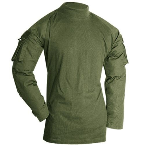 Voodoo tactical combat shirt 100 polyester fleece long for Polyester lined flannel shirts