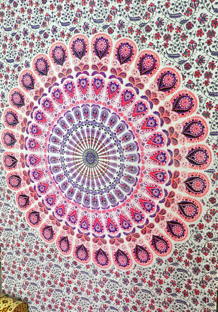 Mandala Tapestries Hippie Tapestries Tapestry Wall