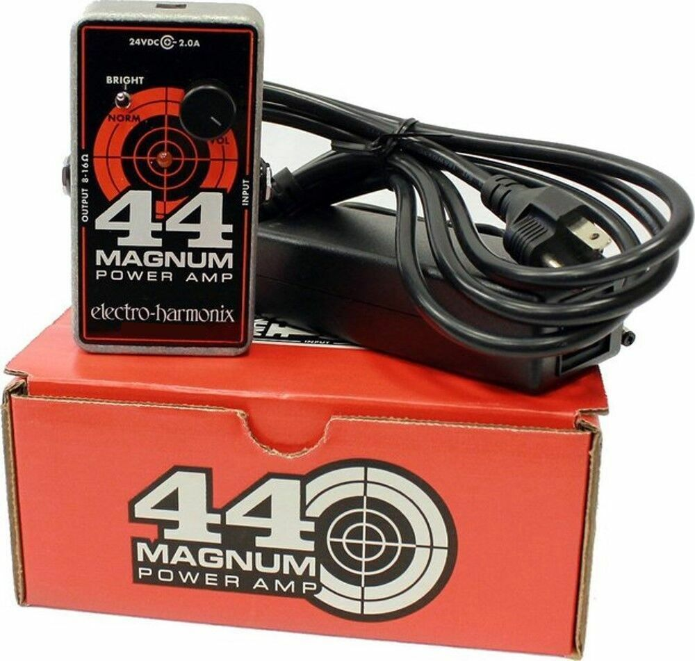new electro harmonix 44 magnum power amp guitar effect pedal ebay. Black Bedroom Furniture Sets. Home Design Ideas