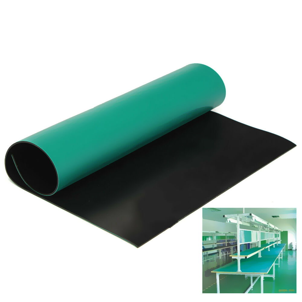 Anti Static Electronics : Green desktop anti static esd mm grounding mat for