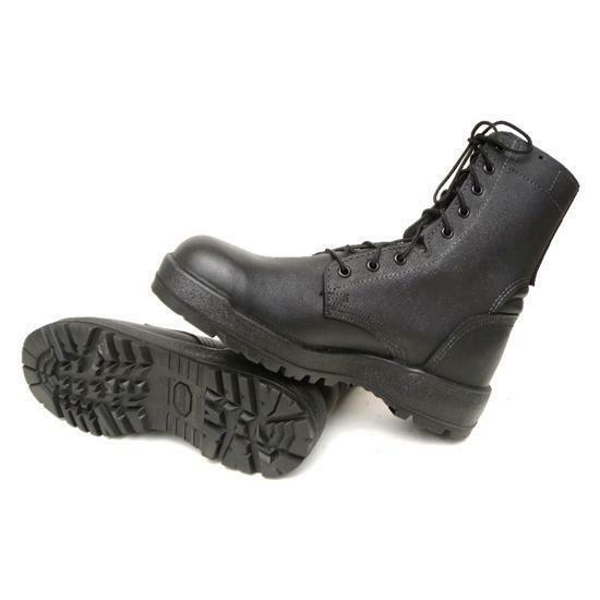 Israeli Combat Boots Black Military Army Surplus Vibram