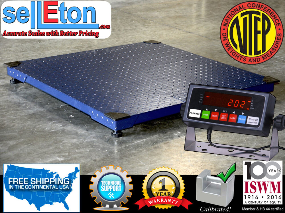 36 x 36 3 39 x3 39 ntep legal for trade floor scale for 10000 lb floor scale