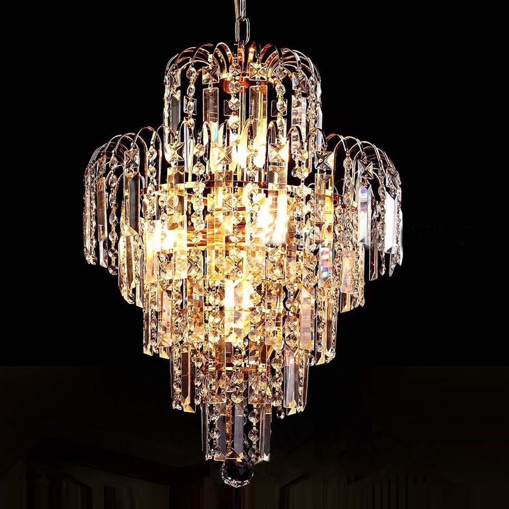crystal modern luxury chandelier ceiling light lamp pendant lighting